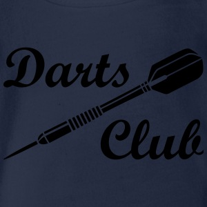Darts Club Dart Sports Logo Game T-Shirts - Organic Short-sleeved Baby Bodysuit