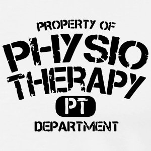PT Departement Physiotherapie Polo Shirts - Men's Premium T-Shirt