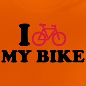 I love my bike T-Shirts - Baby T-Shirt