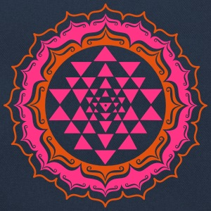 Shri Chakra Yantra - Cosmic Energy Generator Hoodies & Sweatshirts - Retro Bag