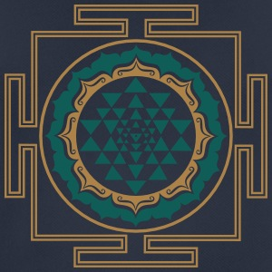 Shri Chakra Yantra - Cosmic Energy Conductor Hoodies & Sweatshirts - Men's Breathable T-Shirt