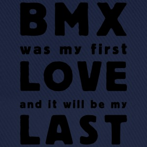 bmx was my first love T-shirts - Basebollkeps
