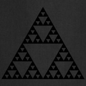 Sierpinski triangle - fractal T-Shirts - Cooking Apron