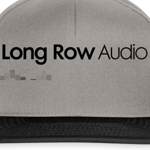 Long Row Audio Logo T-Shirts - Snapback Cap