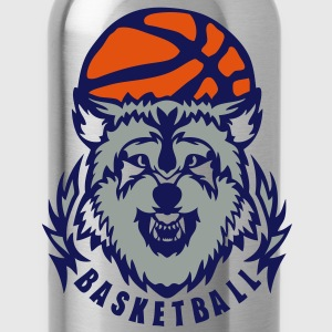 basketball loup logo club wolf ballon Sweat-shirts - Gourde