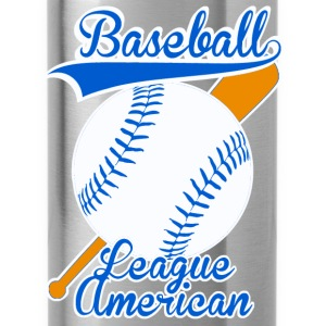 baseball league american Pullover & Hoodies - Trinkflasche