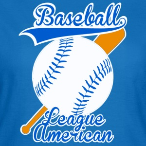 baseball league american Väskor - T-shirt dam
