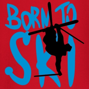 Born to ski - Baby Long Sleeve T-Shirt