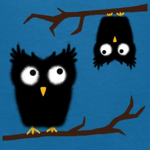 crazy owl Accessories - Women's V-Neck T-Shirt