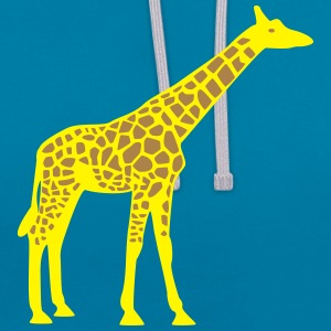 Giraffe Tee shirts - Sweat-shirt contraste