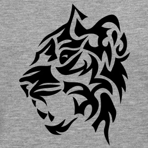 tigre tribal tiger tatoo 4022 Tee shirts - T-shirt manches longues Premium Homme