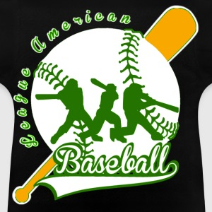 baseball league american Sweats - T-shirt Bébé