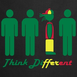 Think different, think Rasta Tee shirts - Tablier de cuisine