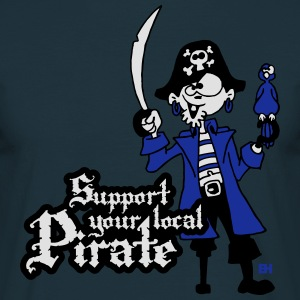 Support your local Pirate Tabliers - T-shirt Homme