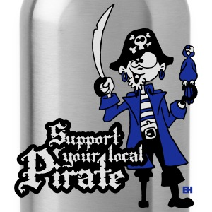 Support your local Pirate Tröjor - Vattenflaska
