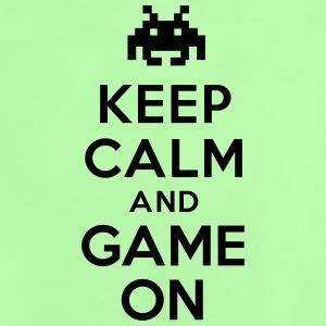 Keep calm and game on Tee shirts - T-shirt Bébé
