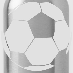 Football Outline  T-Shirts - Water Bottle