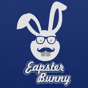 Easter Hipster Bunny - Tote Bag