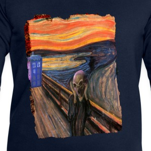 Screaming Tardis T-Shirts - Men's Sweatshirt by Stanley & Stella