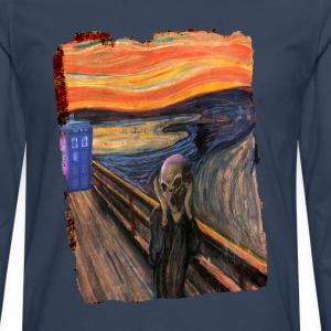 Screaming Tardis T-Shirts - Men's Premium Longsleeve Shirt