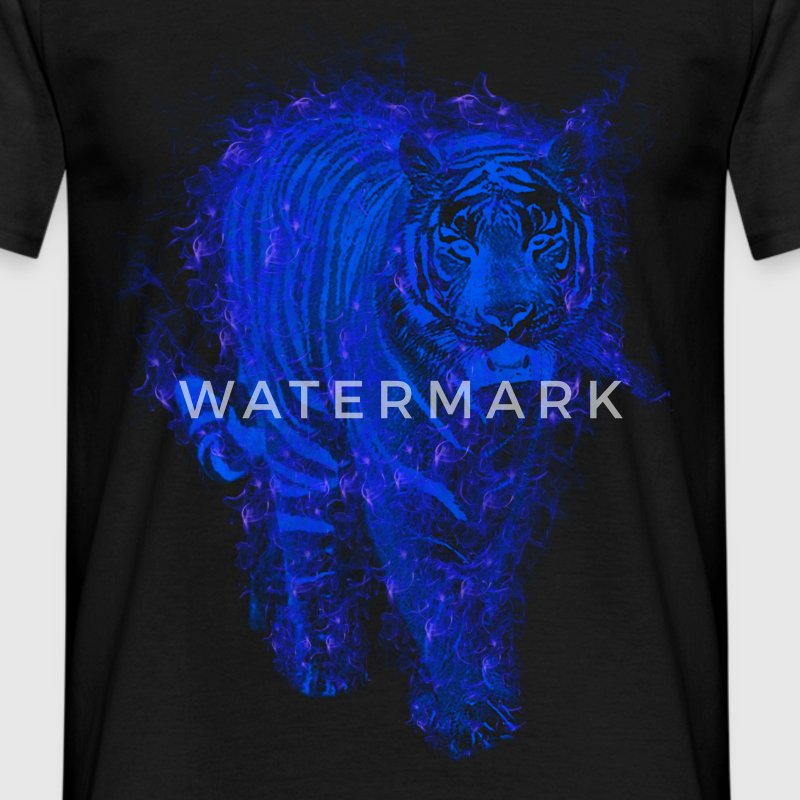 Tiger bluefire T-Shirts - Men's T-Shirt