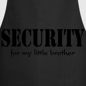 Security for my little Brother Sudadera - Delantal de cocina