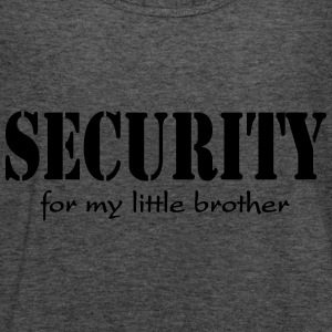 Security for my little Brother Sudadera - Camiseta de tirantes mujer, de Bella