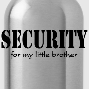 Security for my little Brother Sudadera - Cantimplora