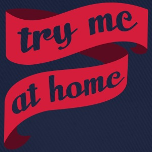 Single, Verlobung, Hochzeit - Try me at home - neo - Baseballkappe