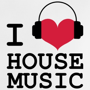 I Love House Music Camisetas - Camiseta bebé