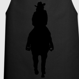 Cowgirl riding westernhorse T-Shirts - Cooking Apron