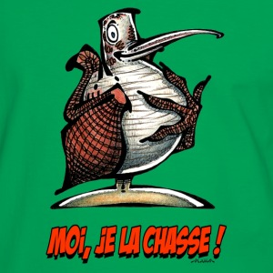 Sac BECASSE Moi, Je La Chasse ! - T-shirt contraste Homme