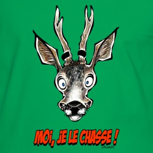 Sac CHEVREUIL Moi, Je Le Chasse ! - T-shirt contraste Homme