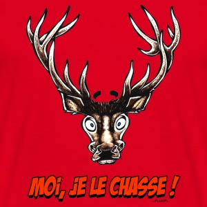 Sac CERF Moi, Je Le Chasse ! - T-shirt Homme