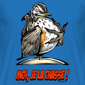 Sac GRIVE Moi, Je La Chasse ! - T-shirt Homme