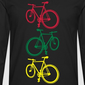 Fixie T-Shirts - Men's Premium Longsleeve Shirt