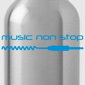 music_non_stop1 T-Shirts - Trinkflasche