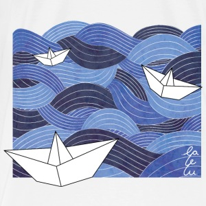 Square | Boats | Bag - Männer Premium T-Shirt