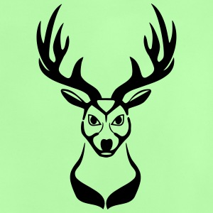 Deer head 1c Sweatshirts - Baby T-shirt