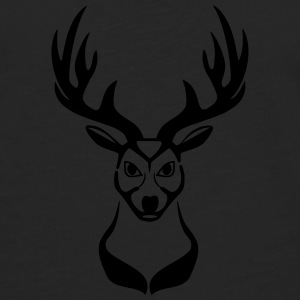 Deer head 1c Bags  - Men's Premium Longsleeve Shirt