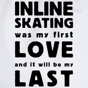 inline skating was my first love Shirts med lange  - Sportstaske