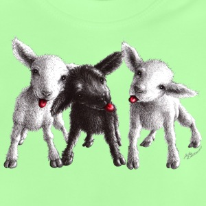 cheeky sheep - Baby-T-skjorte