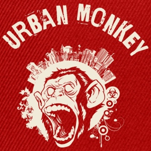 Urban Monkey (positive), DD, yellow T-Shirts - Snapback Cap