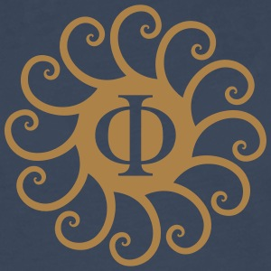 Sacred Phi, golden spirals, Fibonacci, evolution T-Shirts - Men's Premium Longsleeve Shirt