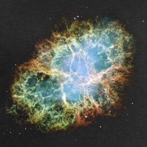 Space - The Crab Nebula  - Men's Sweatshirt by Stanley & Stella