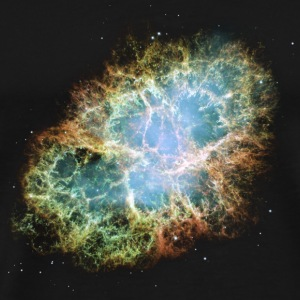 Space - The Crab Nebula  - Men's Premium T-Shirt
