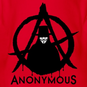 Anonymous A 2c T-Shirts - Baby Bio-Kurzarm-Body