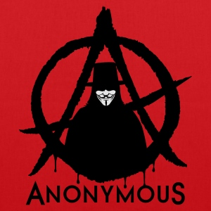 Anonymous A 2c T-Shirts - Stoffbeutel