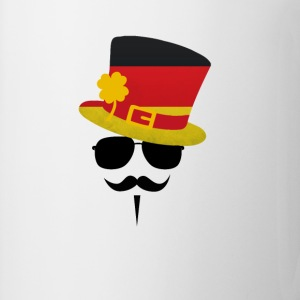 Germany Go Moustache Magliette - Tazza