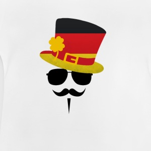 Germany Go Moustache Shirts - Baby T-shirt